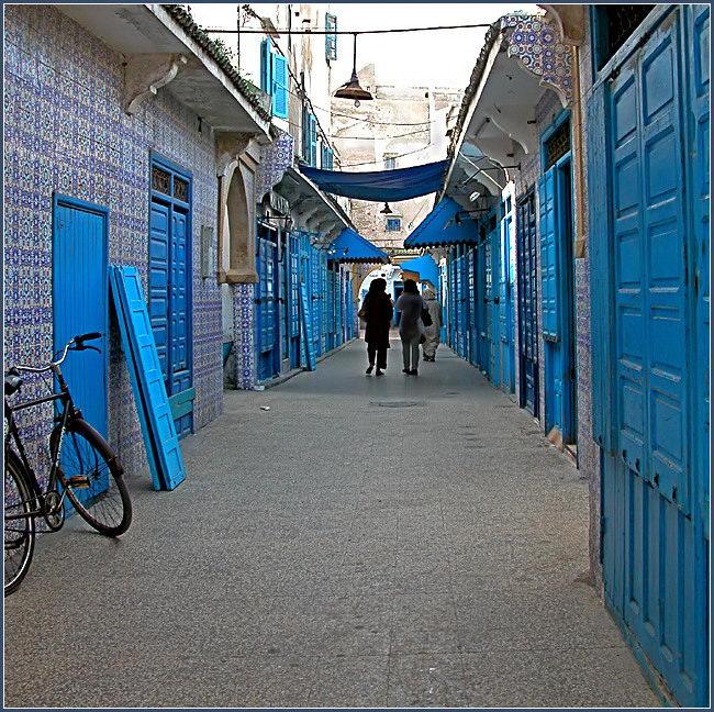 The blue street (2)