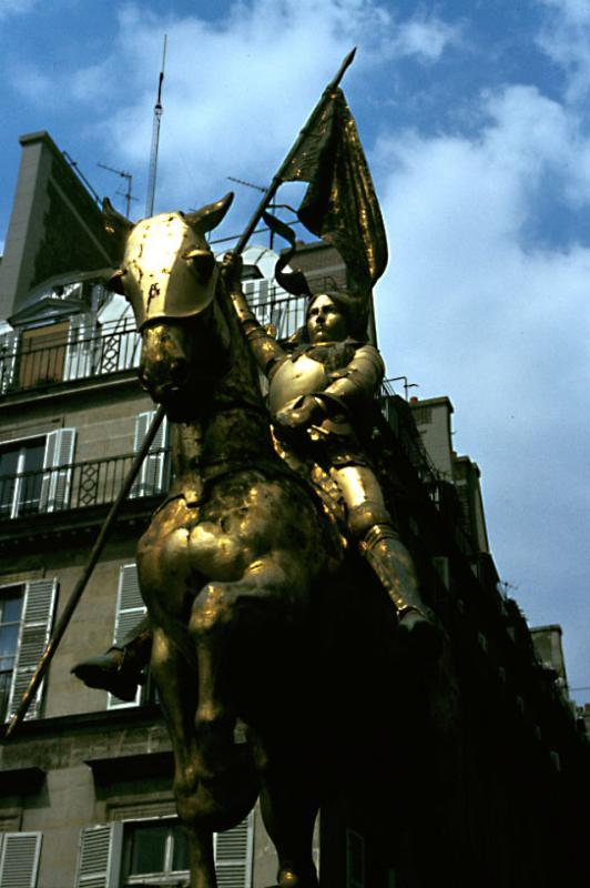 Joan of Arc, Paris, France