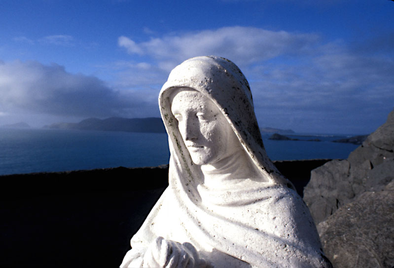 Virgin Statue W. Ireland