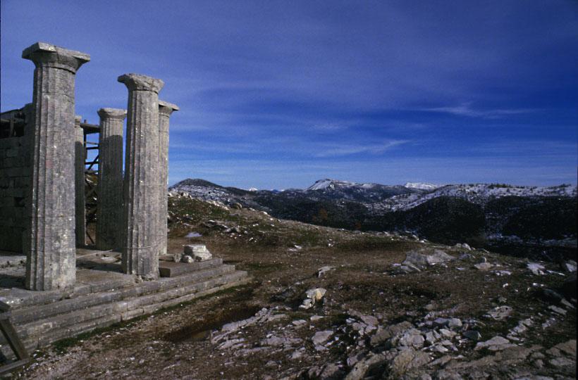Tepmle of Apollo, Bassae, Greece