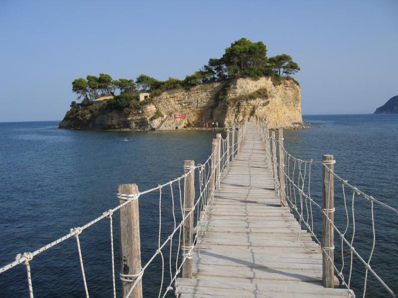 Cameo Island near Zakynthos island