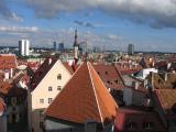 view on Tallinn from Toompea