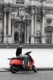 Red scooter (2004)