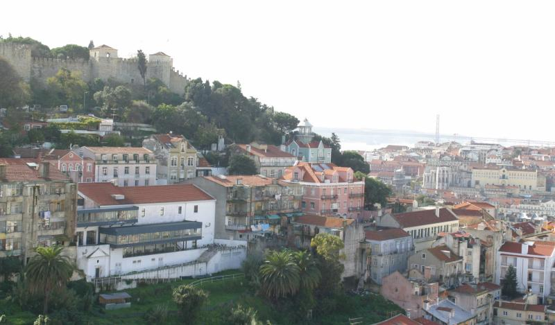 Castelo de Sao Jorge, Alfama district