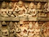 7m high wall of carvings