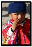 Baby from Cusco, Peru