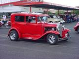 red Ford model A at  Screamers Wickenburg