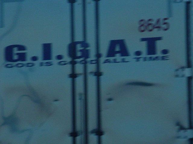 God is Good <BR>All Time big rig