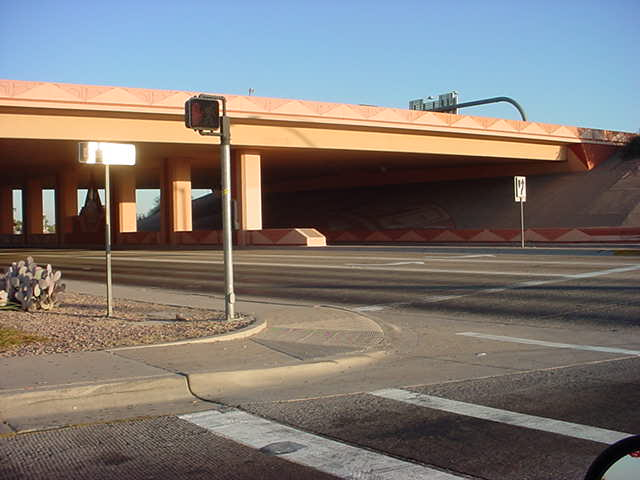 101 Pima northbound<br>at McDowell road offramp