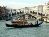 the Rialto Bridge..