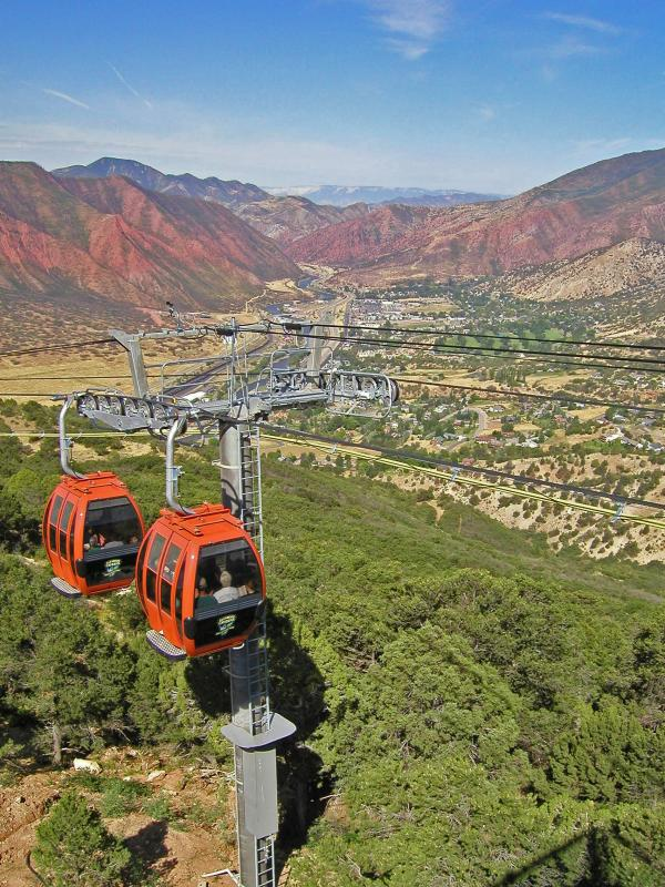 Glenwood Caverns Tram