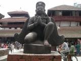 Kathmandu - Durbar Square - Garuda