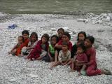 Bhote Kosi - Kids At The Riverside