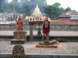 Pashupatinath Temple - Holy Sahdu