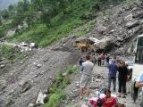 Kathmandu to Llhasa - Friendship Highway - Landslide