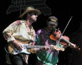 Pickin' and fiddlin' with Left of Memphis