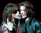 Steve Tyler  and Joe Perry of Aerosmith