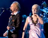 Sting and Annie Lennox