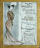 Grand Calico Ball, April 26, 1904