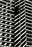 White Slats With Shadows