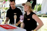 Young & Co.  Brewery reps Meaghan Kroener and Matt Milici