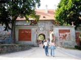 Entrance passage to the 2nd courtyard of the Castle