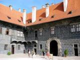 2nd Courtyard of Cesky Krumlov Castle