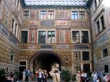 4th Courtyard of Cesky Krumlov Castle