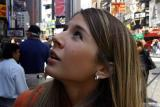 Wow! Jess in Times Square