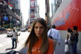 Jess in Times Square