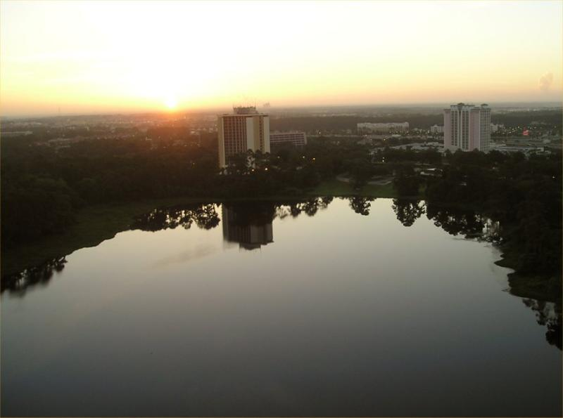 Sunrise on the 25th floor