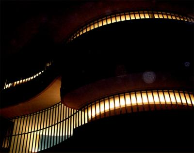 Smithsonian Indian museum at opening night