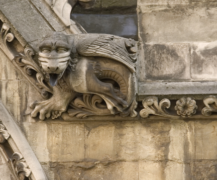 Gargoyle, Westminster Abbey, London
