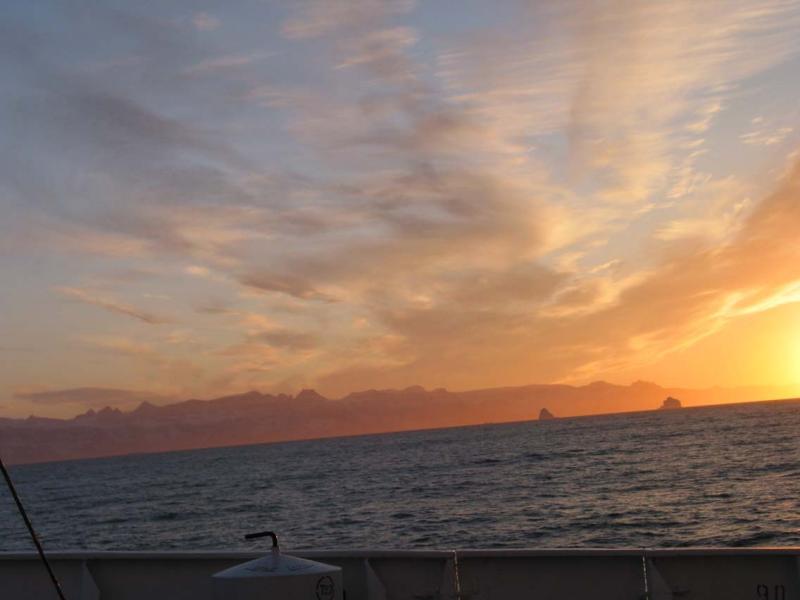 Starting to be Sunset