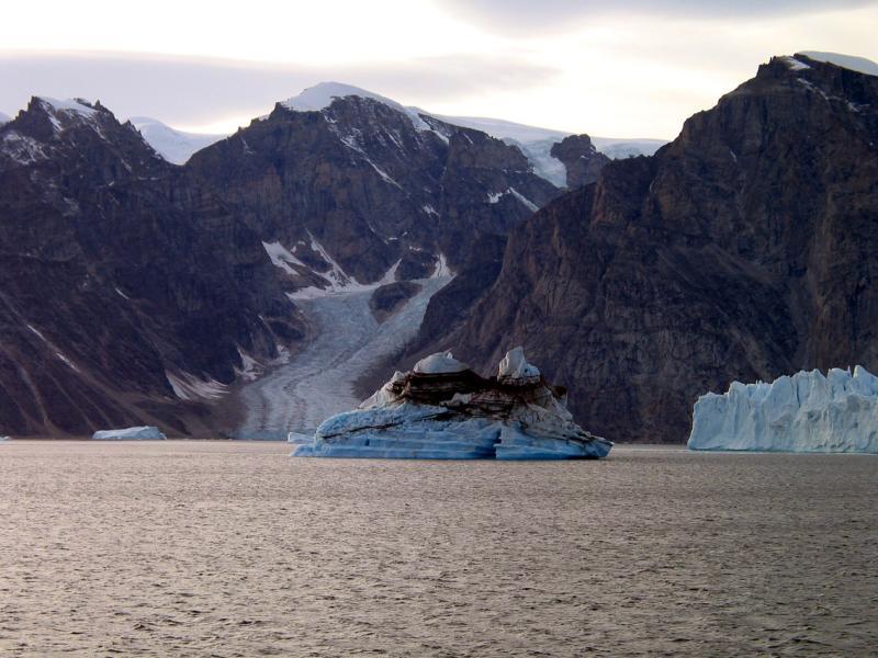 Cruising among the Icebergs
