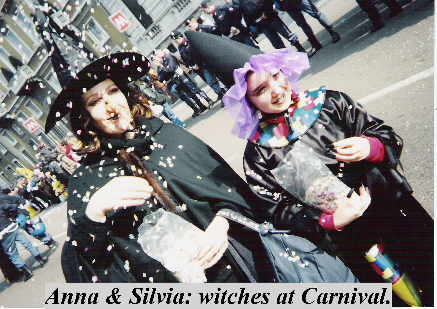 Anna &Silvia as witches