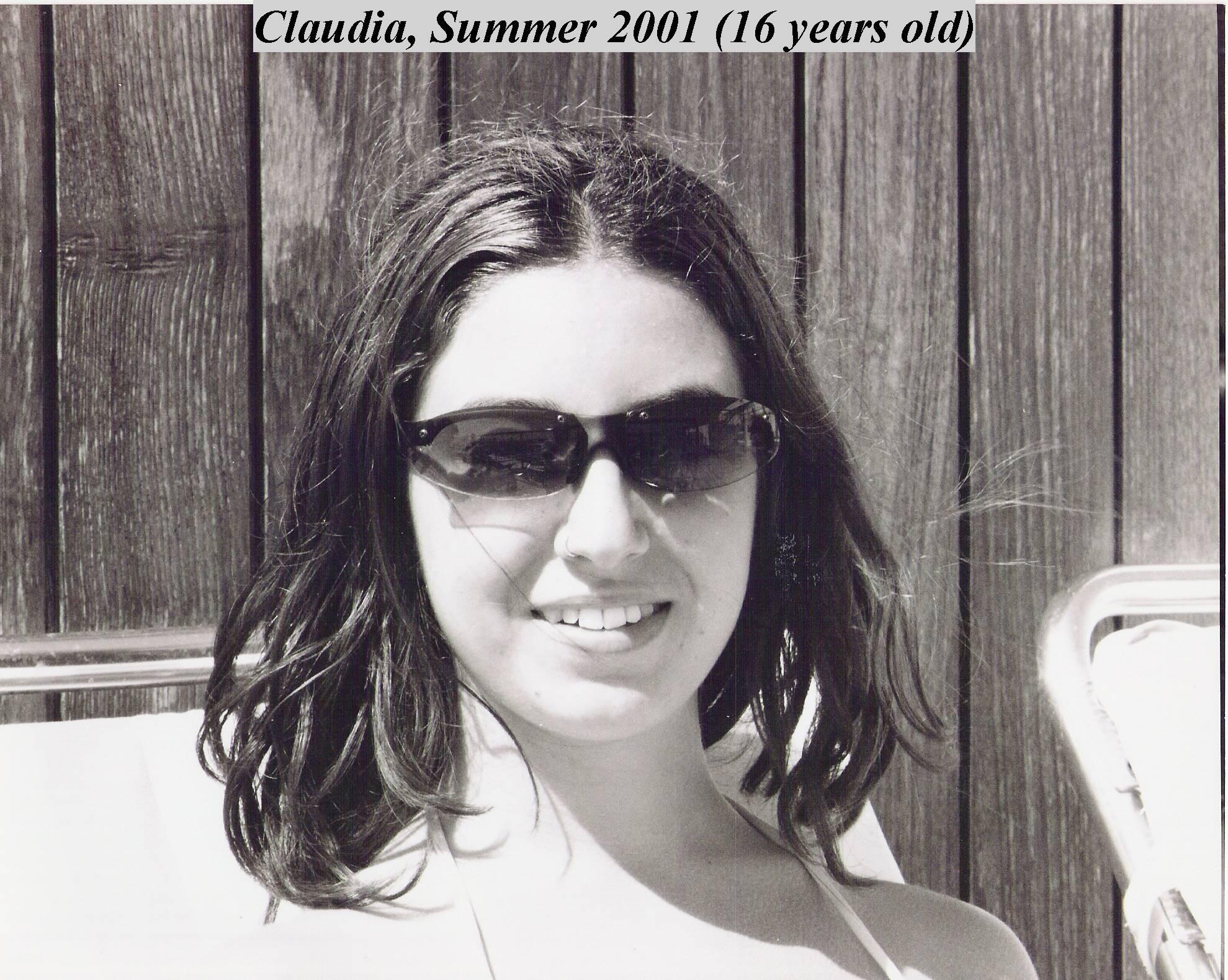 Claudia  Summer2001