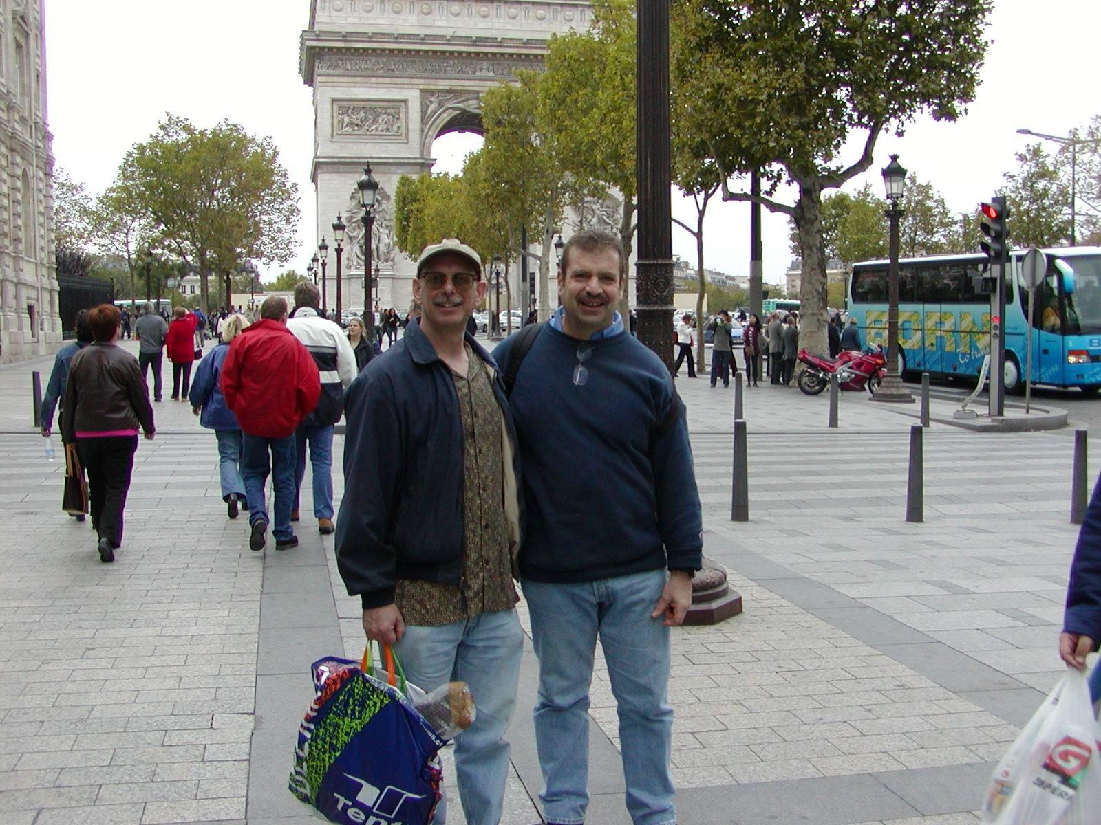 Vive La France! Mark and Eric