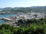 View of Castries from the Hill of Good Fortune