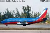 The final flight of Southwest Airlines B737-2H4 N96SW Fred J. Jones aviation stock photo #4307