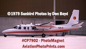 National Airlines Chairman L. B. (Bud) Maytags Turbo Commander N8LB  aviation stock photo #CP7902