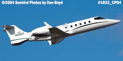 Wilmington Trust Lear 60 N58ST business aviation stock photo #1833