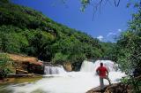 Cânion do Rio do Jaburu, trilha para cachoeira do frade, Ubajara