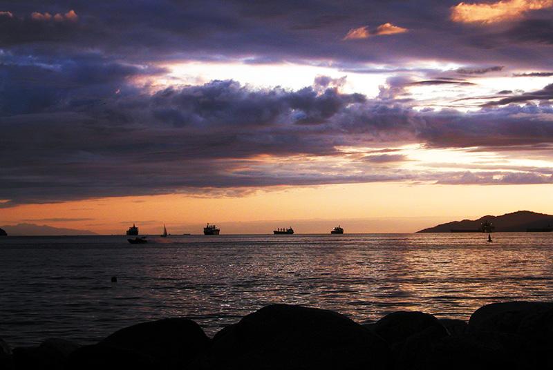 English Bay, Vancouver, Canada, 2003