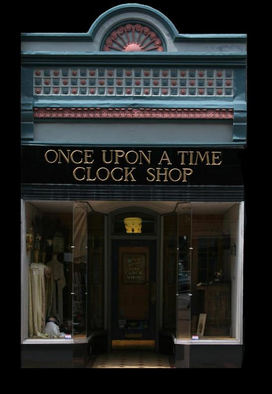 The Once Upon a Time Clock Shop
