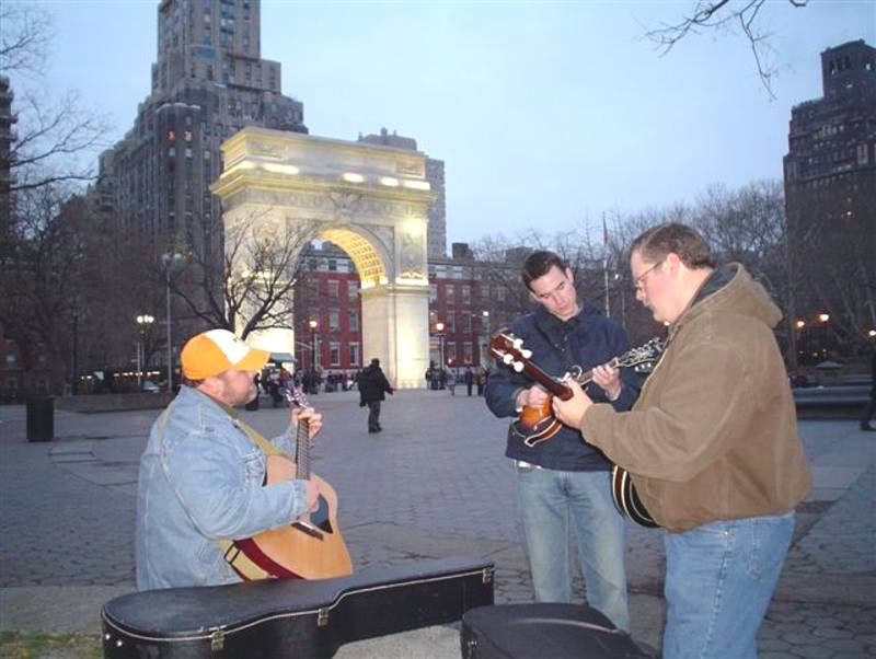 Pickin on the Square