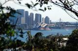 View of the Sydney Opera House from Taronga Park Zoo