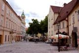 Approaching the Main Square, Bratislava