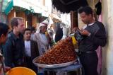 Buying sweets, Sana'a souq