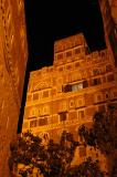 Old Town Sana'a, night